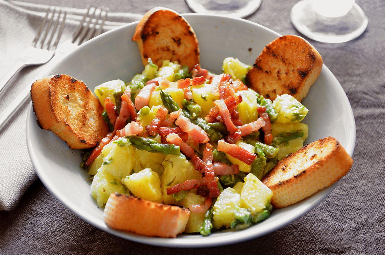 Insalata di asparagi e patate