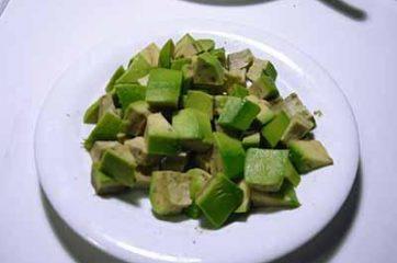 Insalata di gamberi e avocado 3