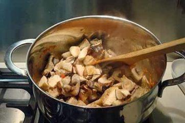 Zuppa di funghi 6