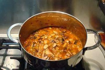 Zuppa di funghi 7