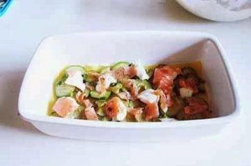 Lasagne al salmone e zucchine 11