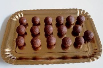 Tartufini cioccolato e nocciole 7