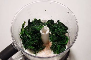 Flan agli spinaci 5