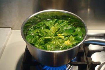 Pasta con pesto di spinaci 2