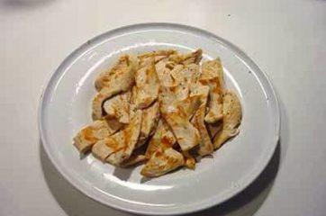 Petti di pollo con verdure 9