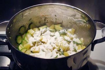 Vellutata di patate e zucchine 6