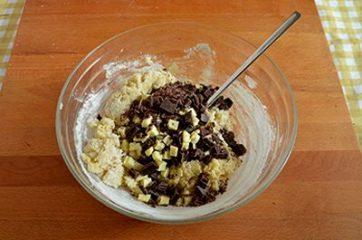 Cookies ai due cioccolati 5