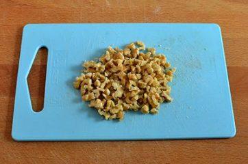 Risotto gorgonzola pere e noci 1