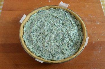 Torta salata ricotta e spinaci 10