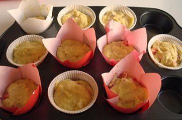Muffin alle fragole 8