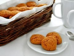 Biscotti integrali al miele