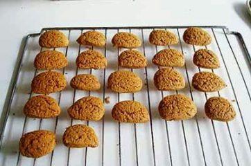 Biscotti integrali al miele 8