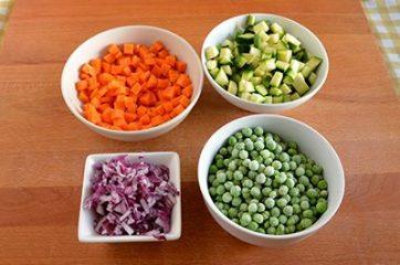 Clafoutis alle verdure 1