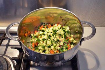 Clafoutis alle verdure 7