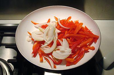 Fajita di pollo e peperoni 5