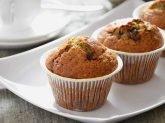 Muffin al cioccolato e pistacchi
