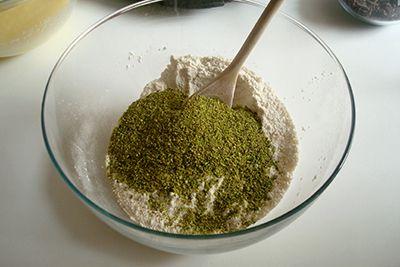 Muffin al cioccolato e pistacchi 5