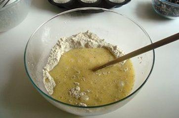 Muffin al cioccolato e pistacchi 6