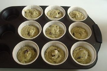 Muffin al cioccolato e pistacchi 8