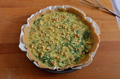 Torta salata agretti e gorgonzola 11