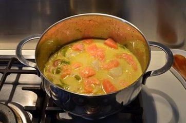 Curry di pesce 6