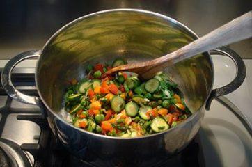 Risotto alle verdure 10