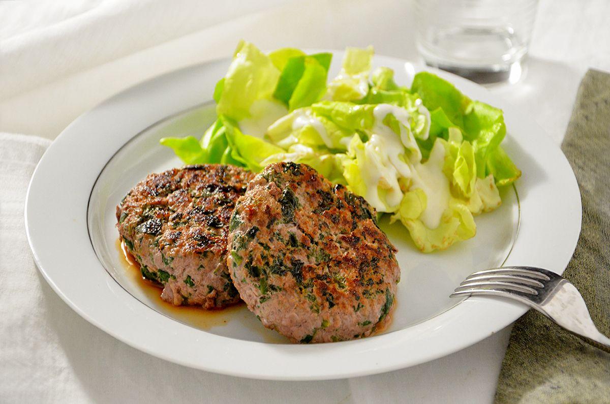Favoloso Ricetta Hamburger con spinaci - La Ricetta della Cucina Imperfetta TV58