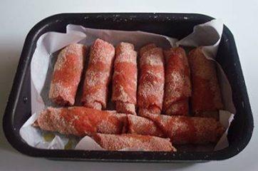 Involtini di carne impanati 5