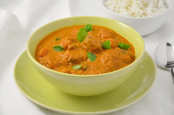 Curry rosso di manzo