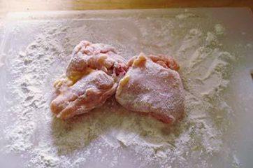 Pollo con funghi e pancetta 1