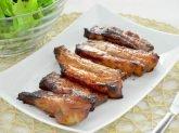Costine di maiale glassate