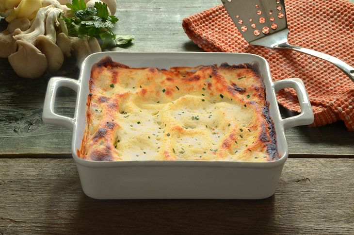 Popolare Lasagne ai funghi - La Ricetta della Cucina Imperfetta LT93