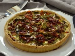Quiche ai carciofi