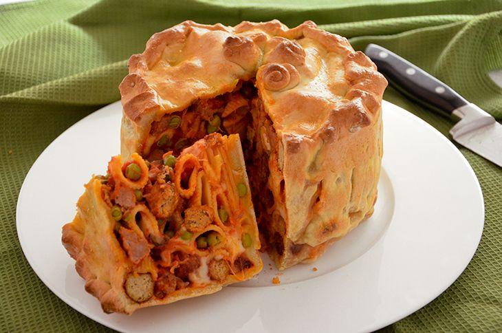 Timballo di pasta in crosta ricetta