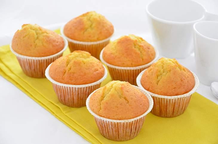 Ricette muffin dolci al limone