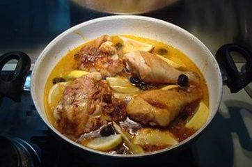 Pollo speziato al limone 6