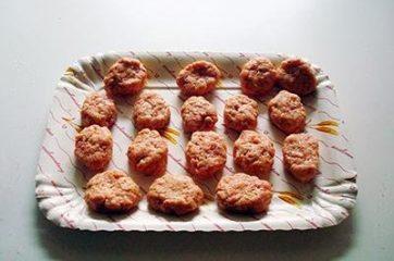 Bocconcini di pollo fritti Chicken McNugget 3