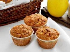 Muffin alle mele e crusca