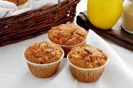Muffin mele e crusca
