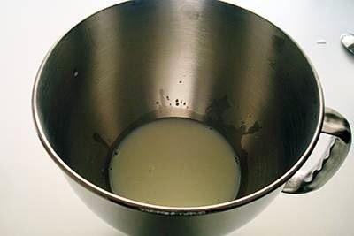 Panini al latte: primo passaggio