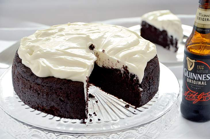 Torta Guinness al cioccolato (Guinness chocolate cake)