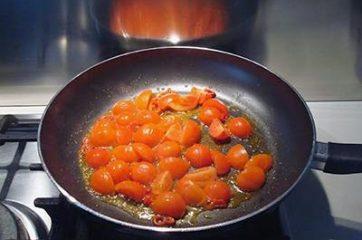 Pasta bietole e pomodorini 5