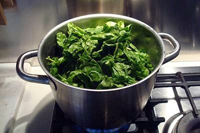Torta fiore di ricotta e spinaci 1