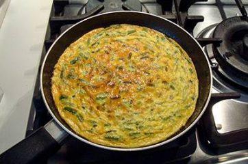Frittata di asparagi 8