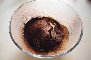 Chiffon cake al cacao 5