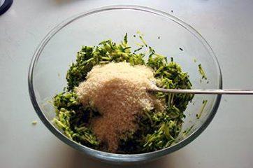Frittelle di zucchine 3