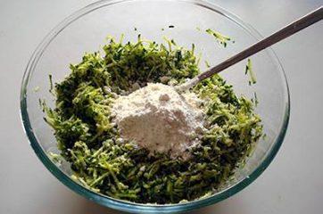 Frittelle di zucchine 4