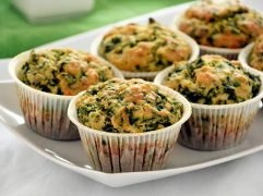 Muffin spinaci e feta
