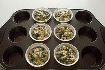 Muffin spinaci e feta 8