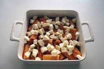 Pasta al forno con melanzane 9